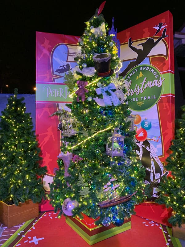 Peter Pan Christmas Tree