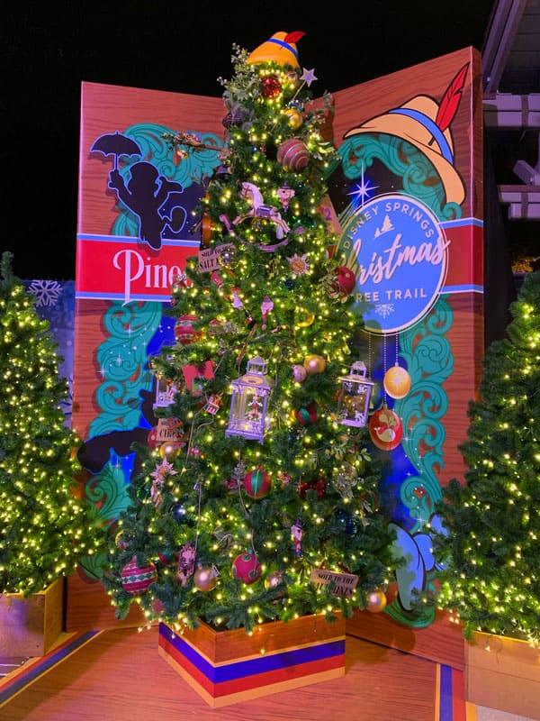 Disney Springs Christmas Tree Trail 3