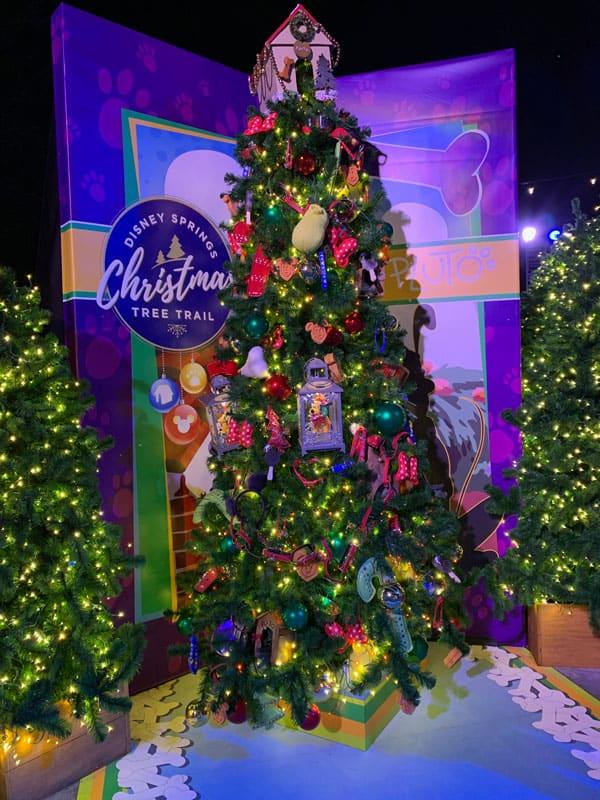 Disney Springs Christmas Tree Trail 2