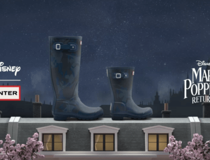 Hunter Boots Releases a Mary Poppins Collection 8