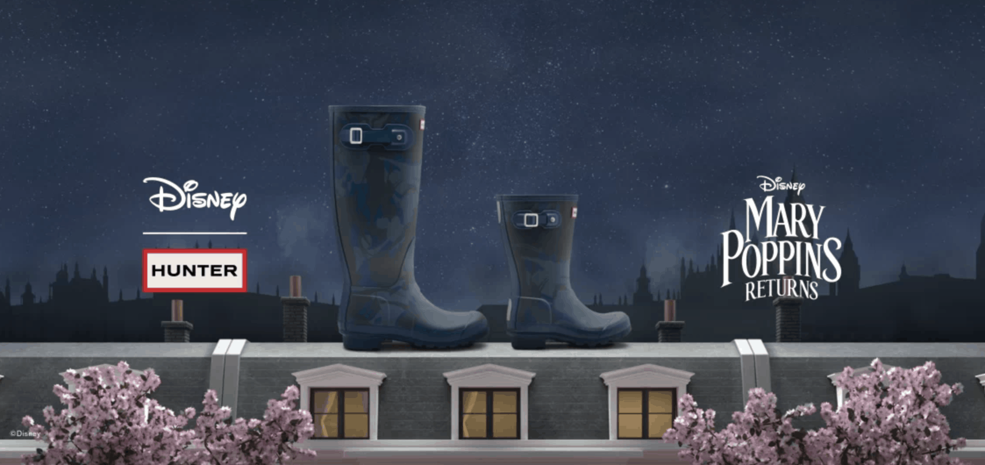 Hunter Boots Releases a Mary Poppins Collection 10