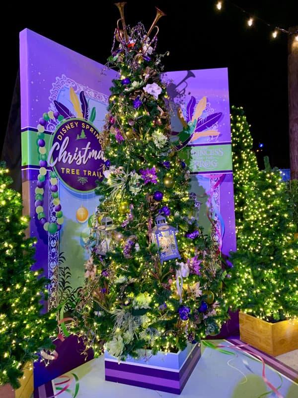 The Princess and the Frog Christmas Tree