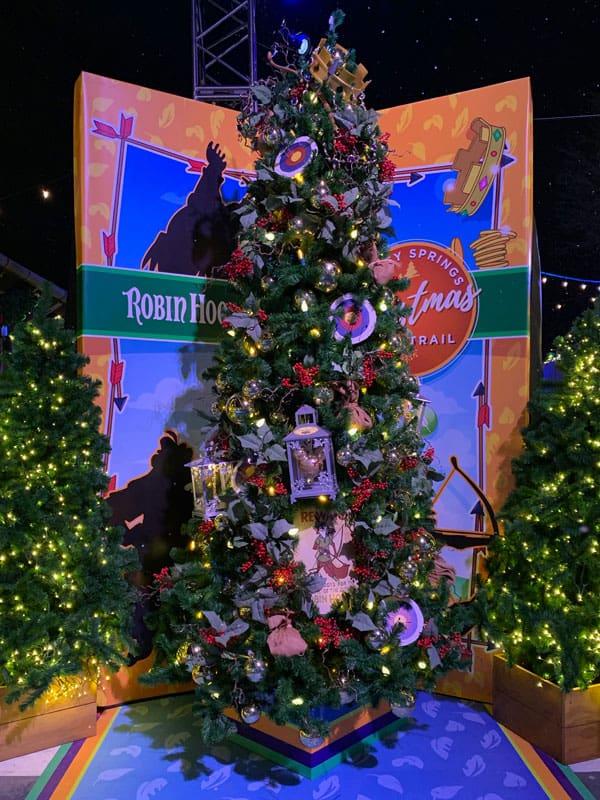 Robin Hood Christmas Tree