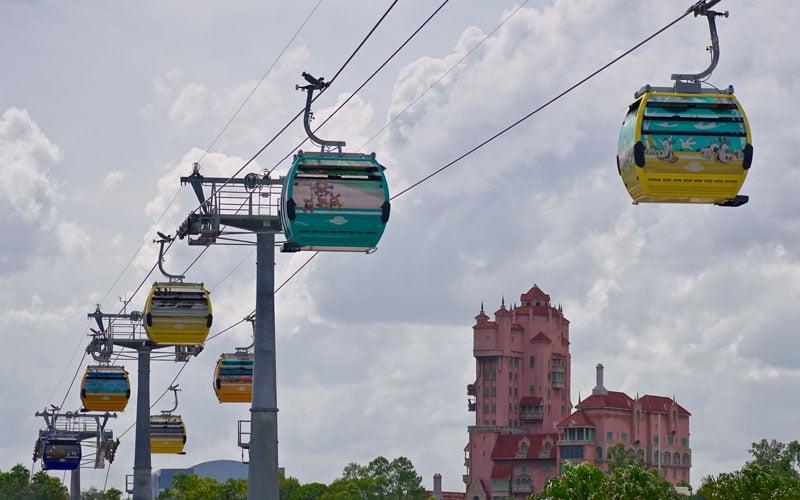Disney Skyliner the New Way to Travel at Disney World 11
