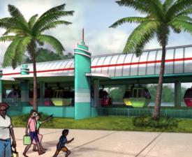 Disney Skyliner the New Way to Travel at Disney World