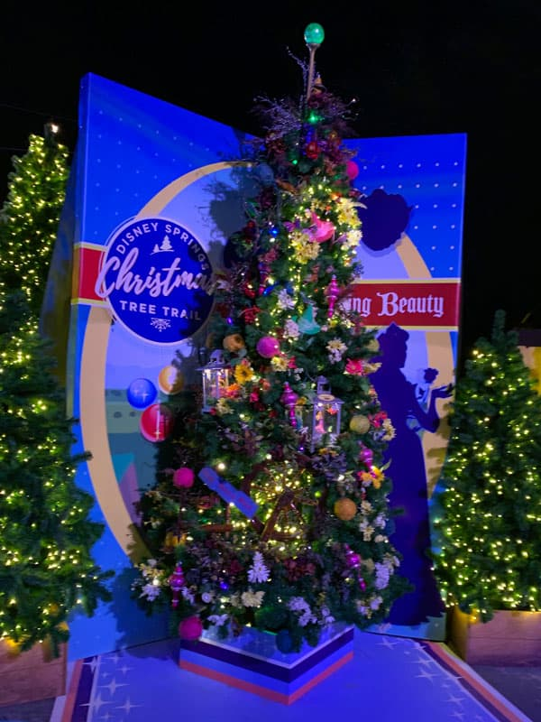 Sleeping Beauty Christmas Tree