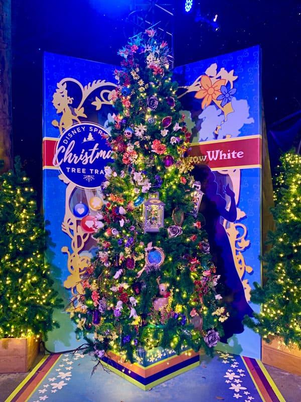 Snow White Christmas Tree from Disney Springs Christmas Tree Trail