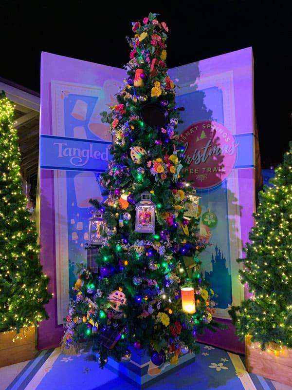 Tangled Christmas Tree