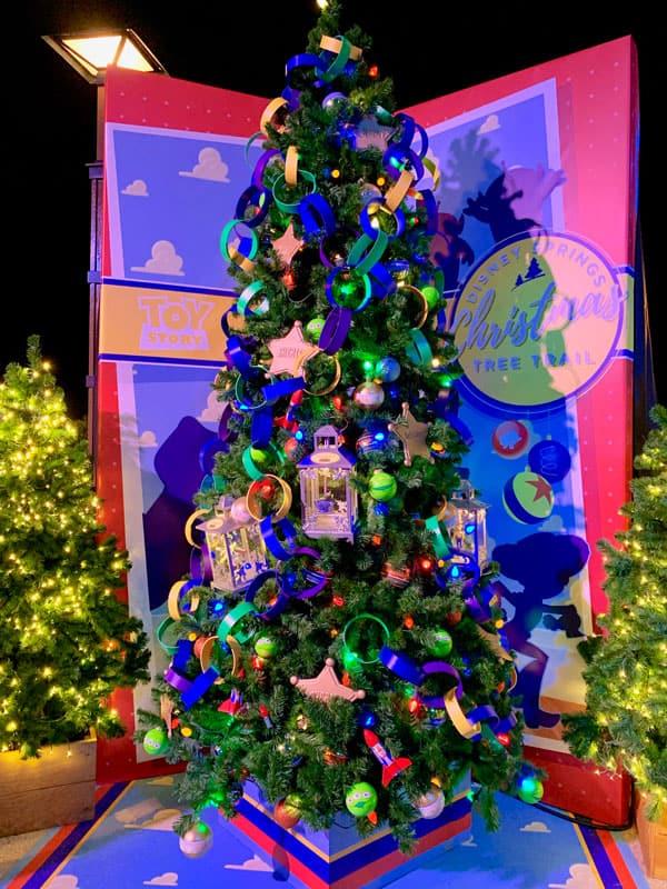 Disney Springs Christmas Tree Trail 7