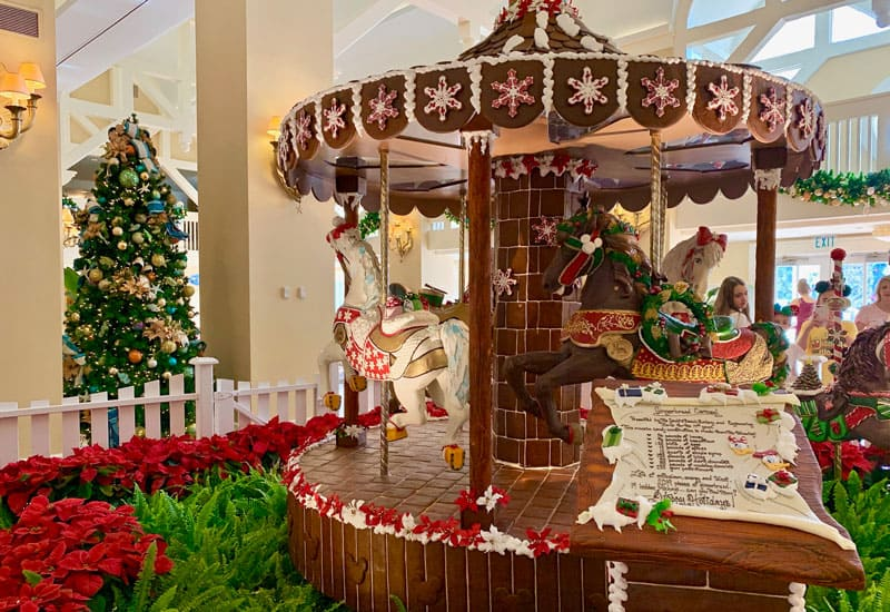 The Best Disney Resorts at Christmas 25