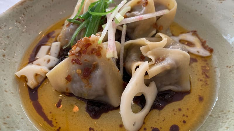Braised Beef Short Rib Wontons