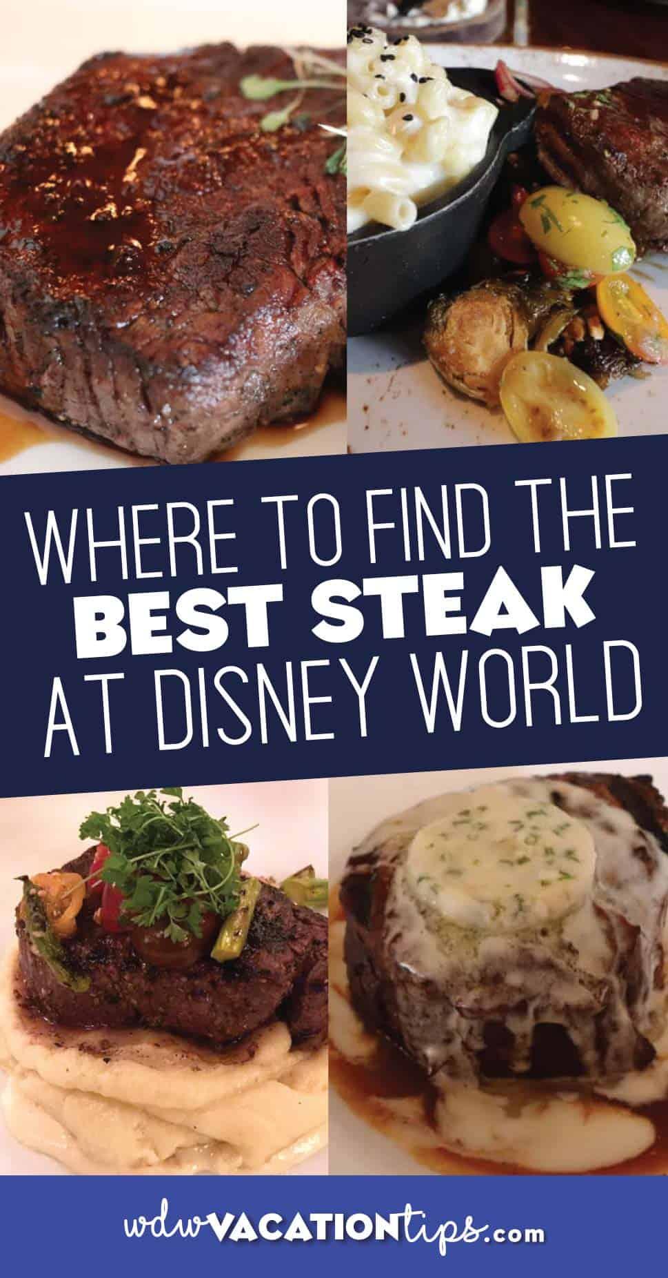 Best Steak at Walt Disney World