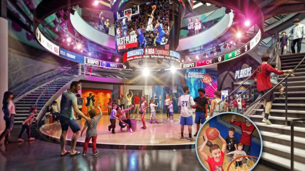 NBA Experience at Disney Springs 3