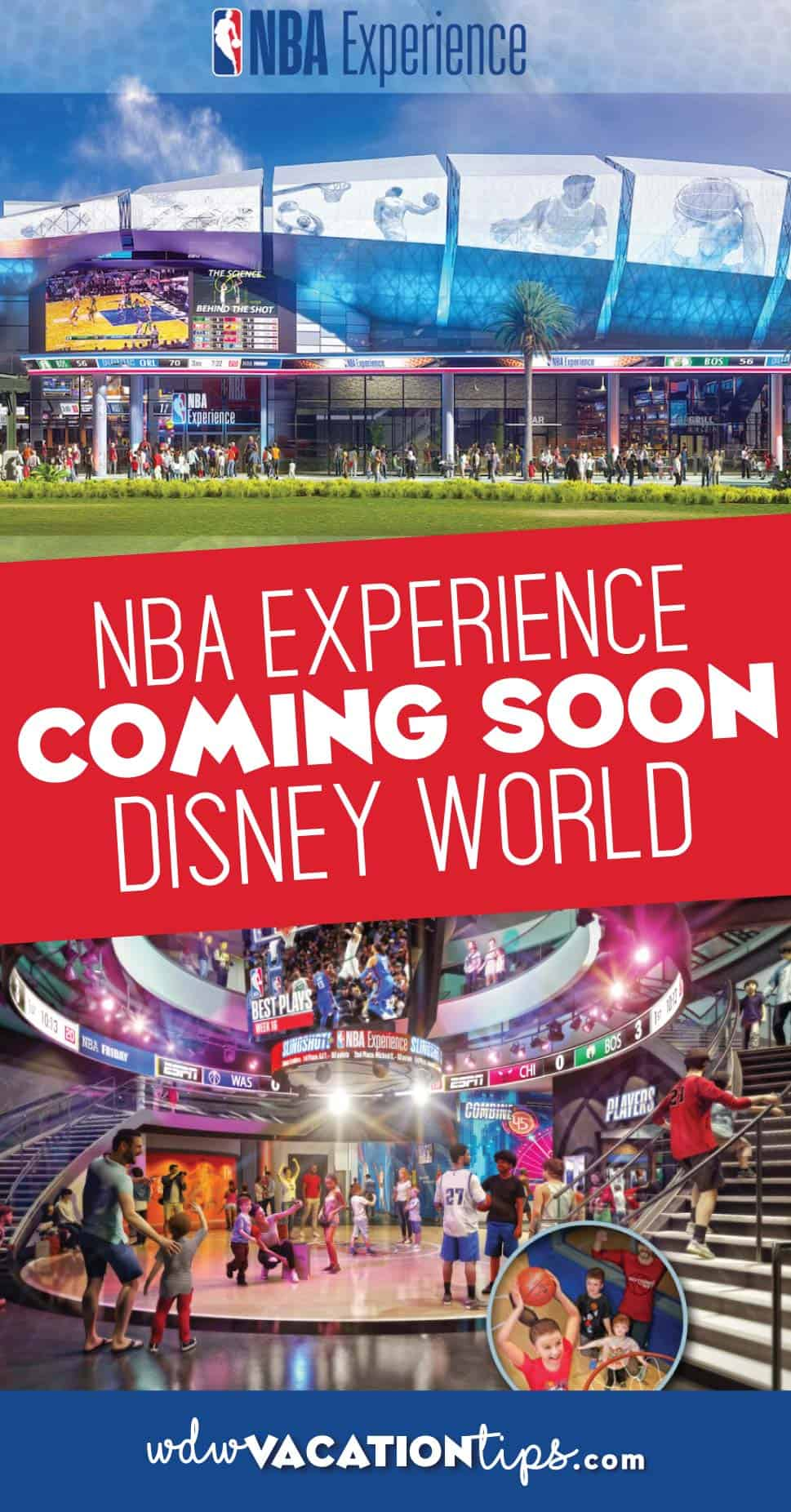 NBA Experience coming to Disney Springs Disney World