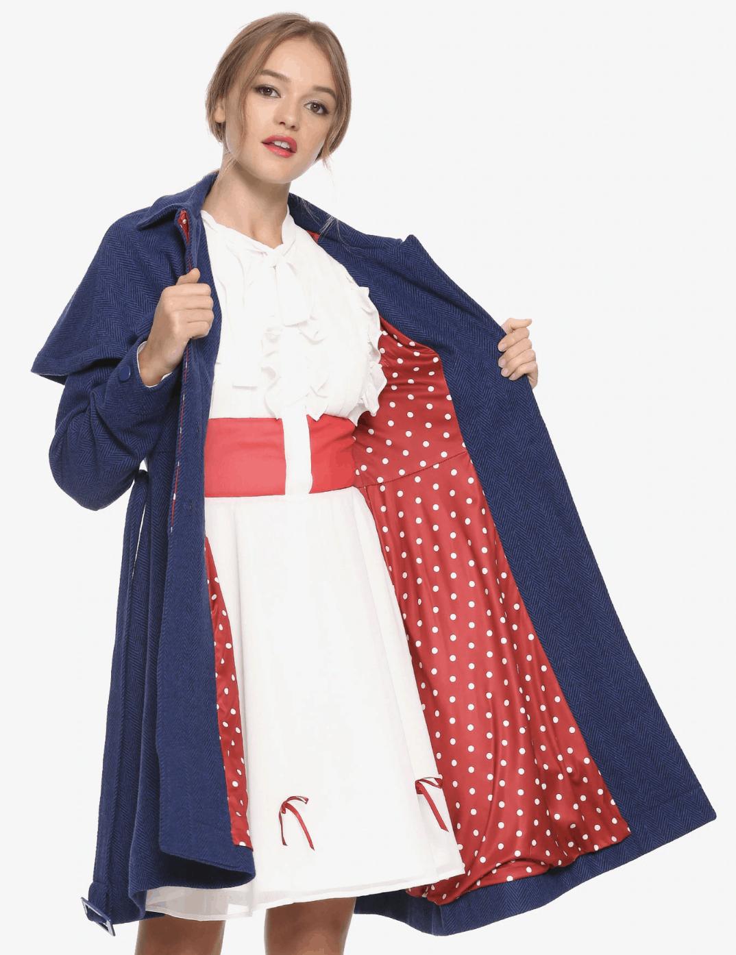 Mary Poppins Cosplay Coat