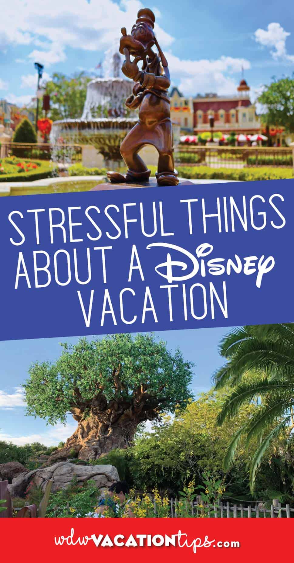Stressful Things about Disney Vacation