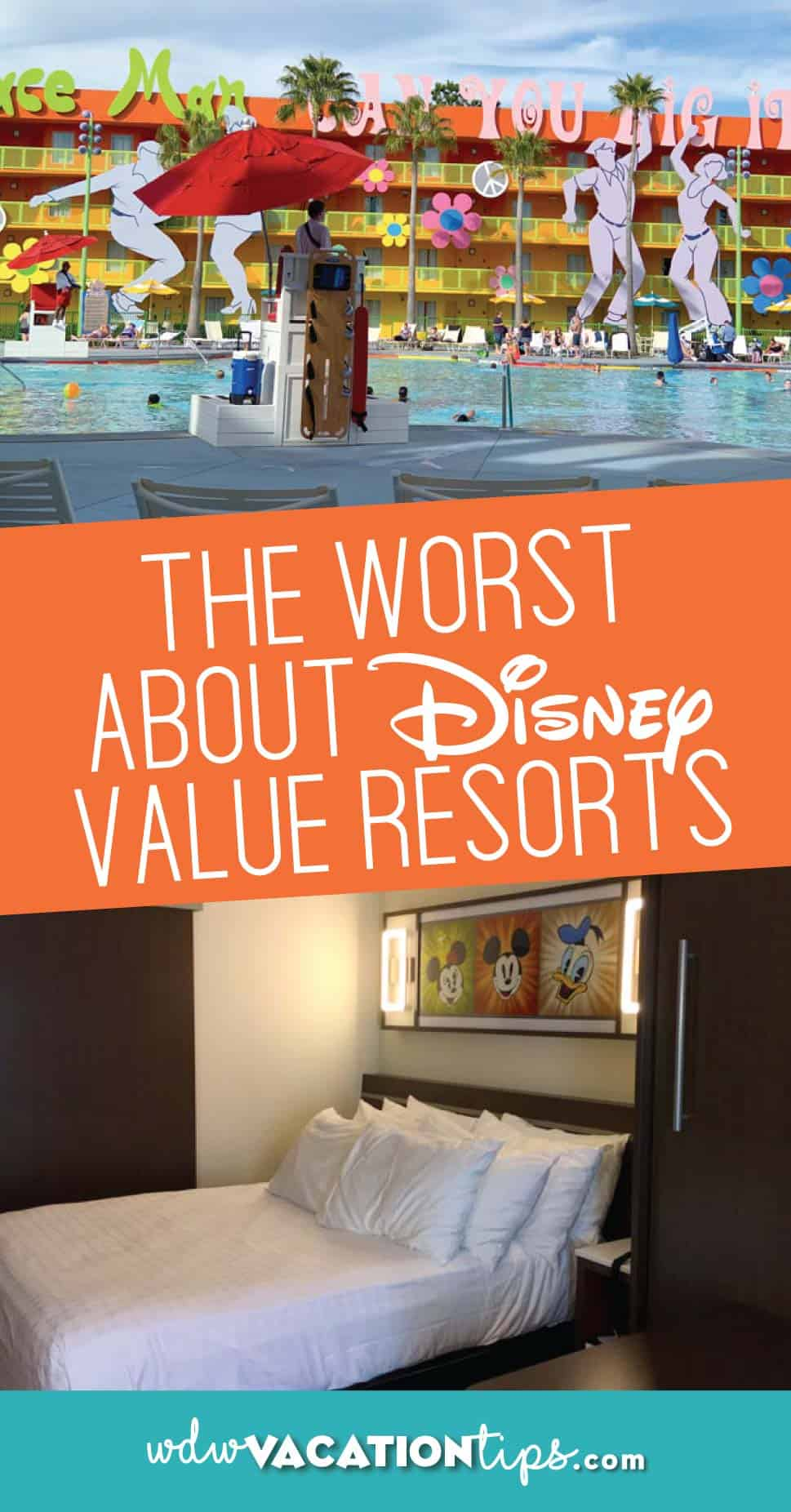 Worst things about staying at a Disney value resort