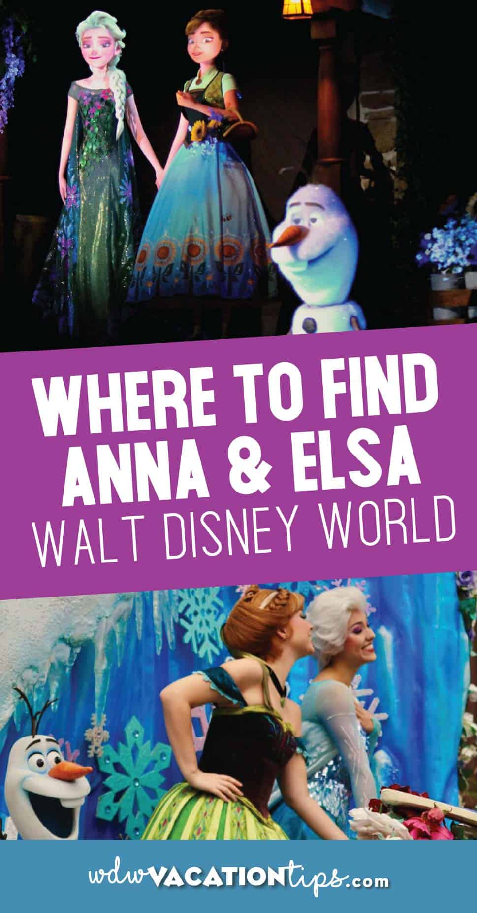 Where to Find Anna and Elsa at Walt Disney World 9