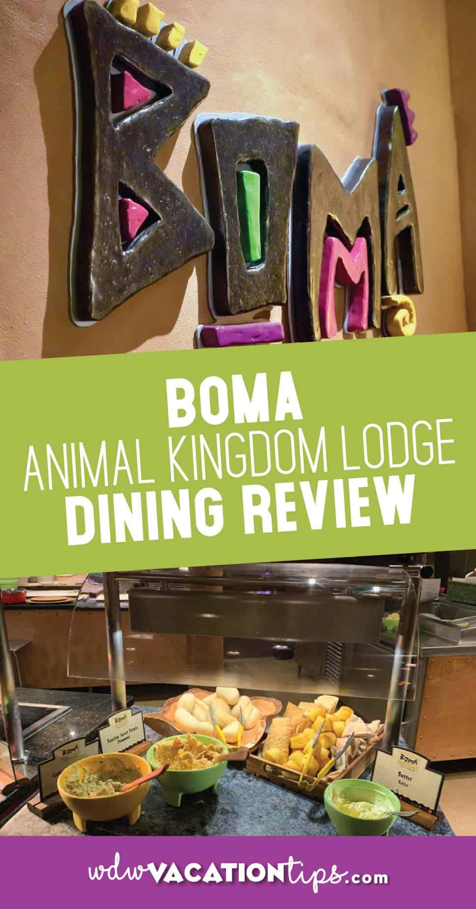Boma dining review