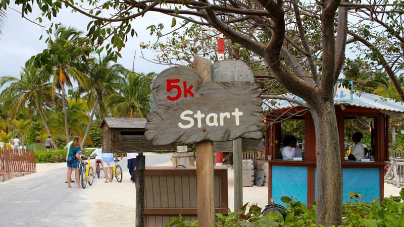 Castaway 5K start line