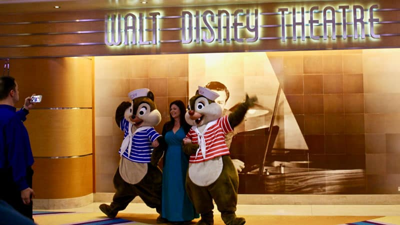 Meet Chip and Dale Disney Cruiseline