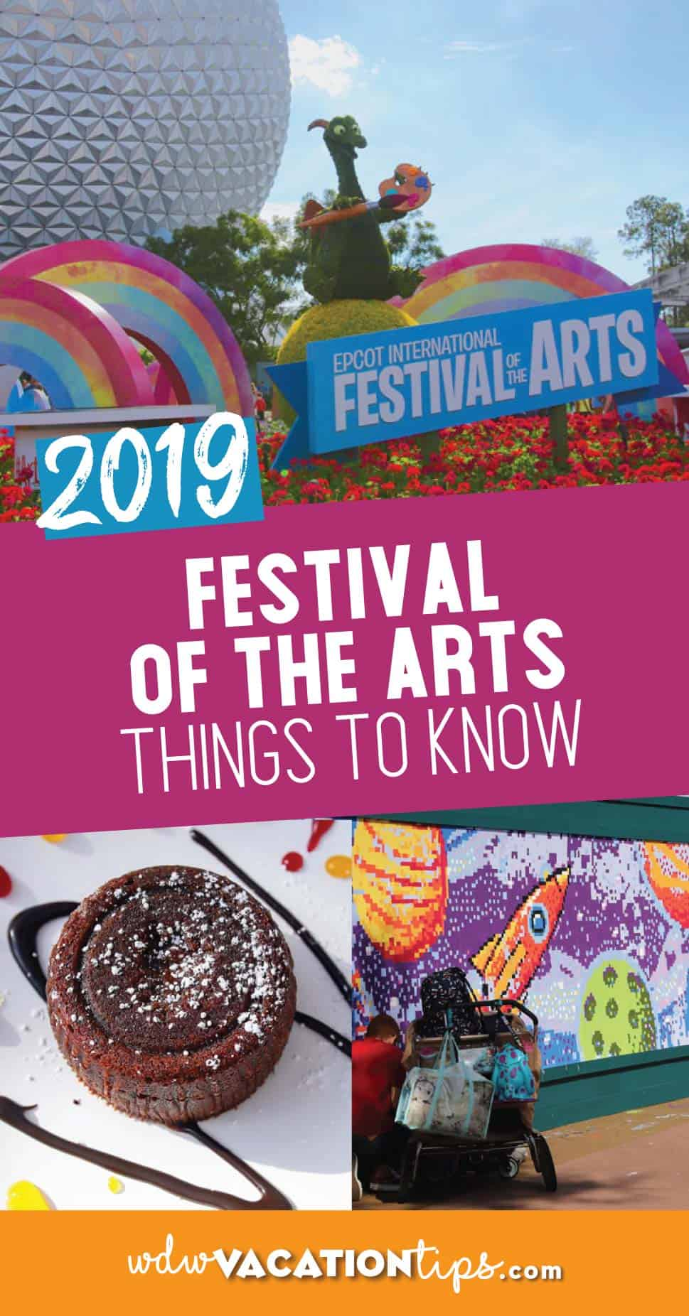 Epcot Festival of the Arts Guide