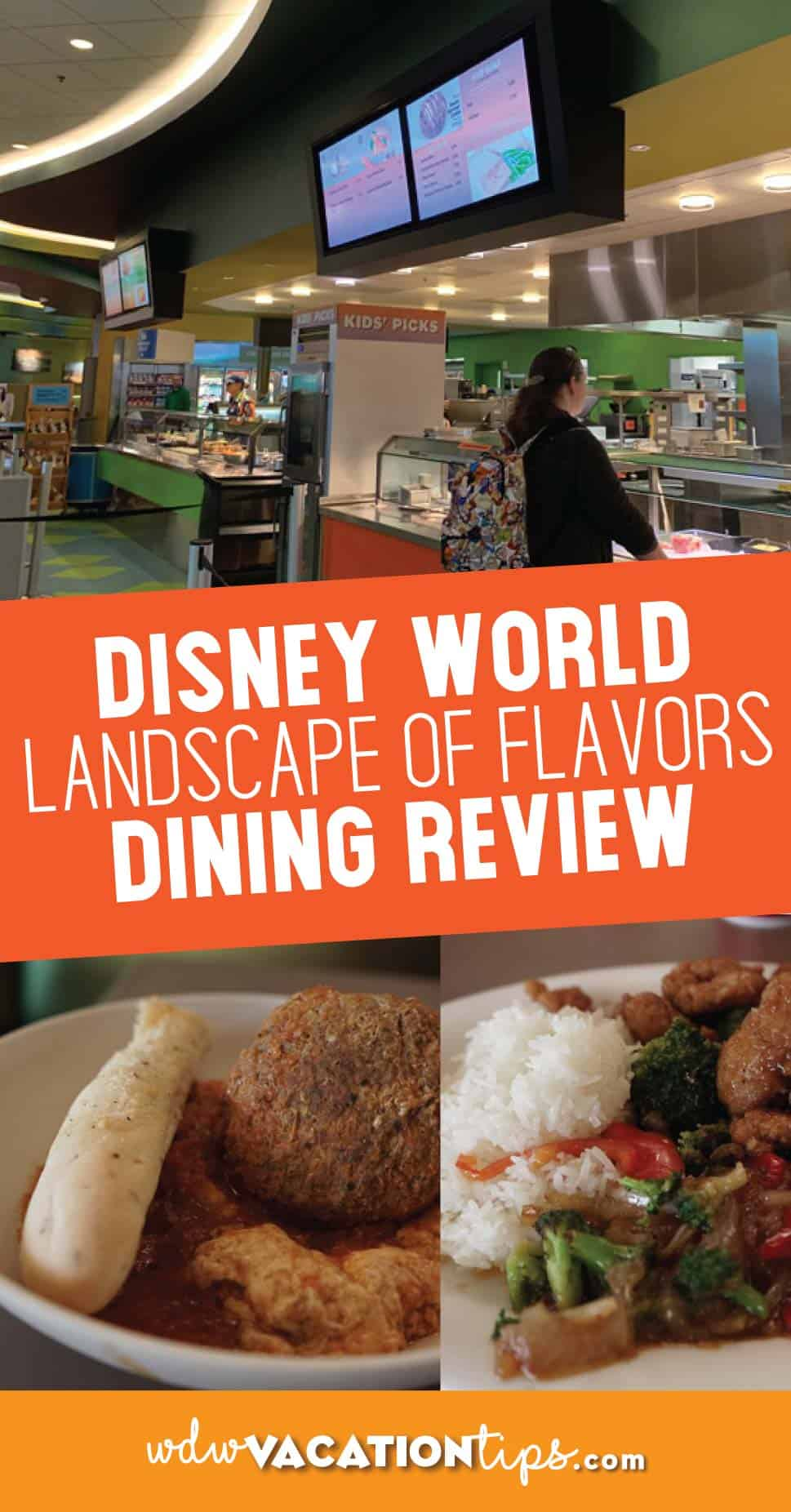 Landscape of Flavors Dining Review