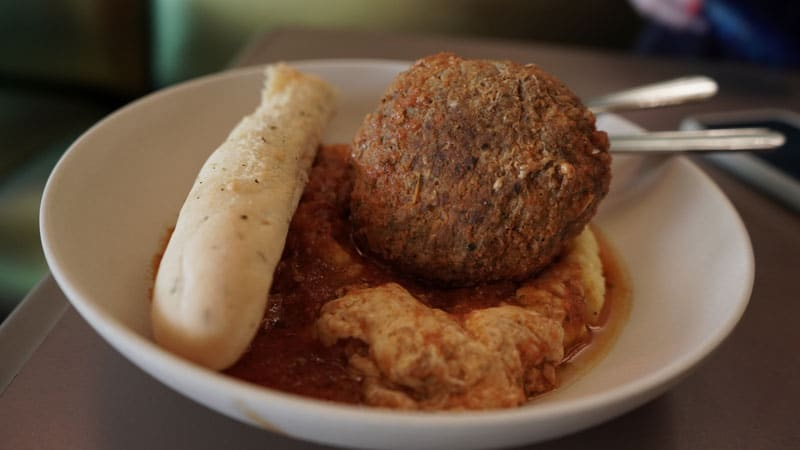 Jumbo Stuffed Meatball