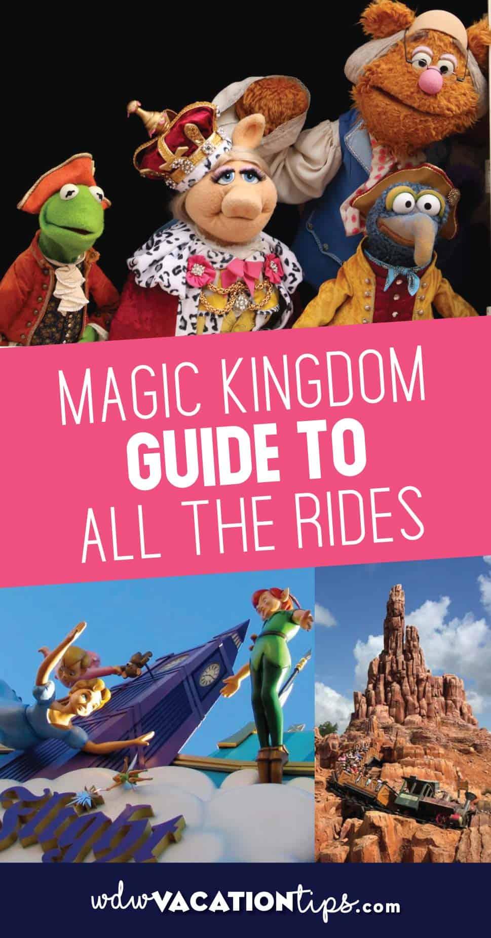 Magic Kingdom Ride Guides