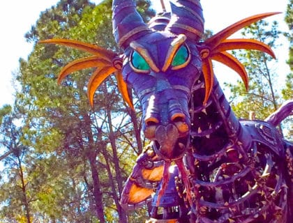 Maleficent Returns to the Festival of Fantasy Parade 19