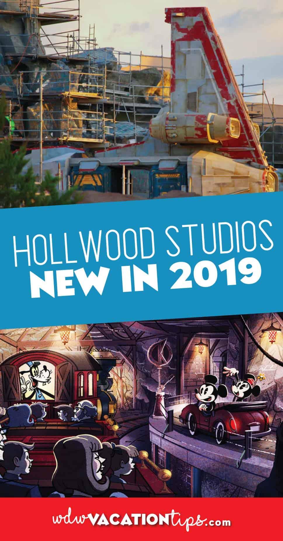 New at Hollywood Studios 2019