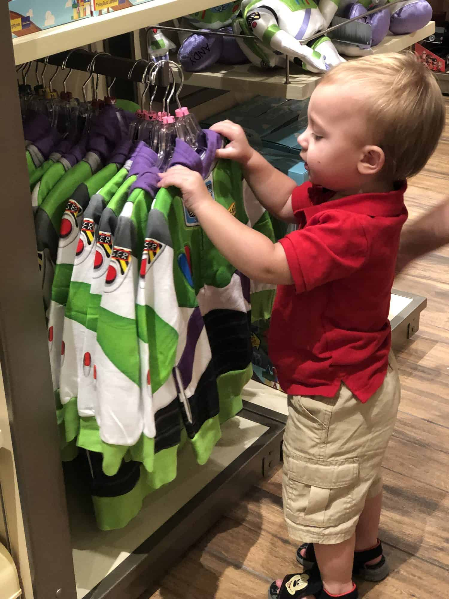 Picking out Toys with Toddlers at Disney Springs 13