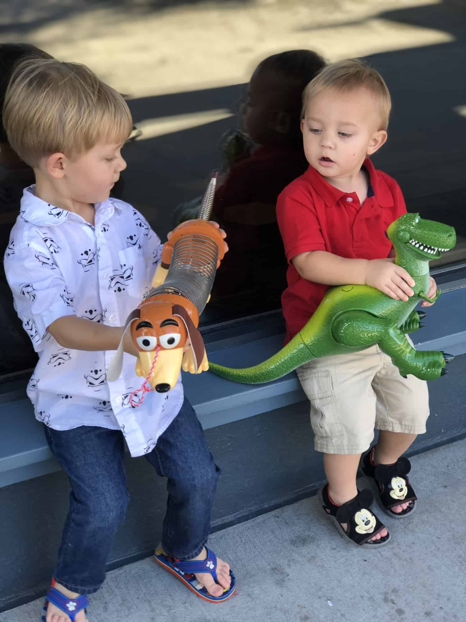 Picking out Toys with Toddlers at Disney Springs 11