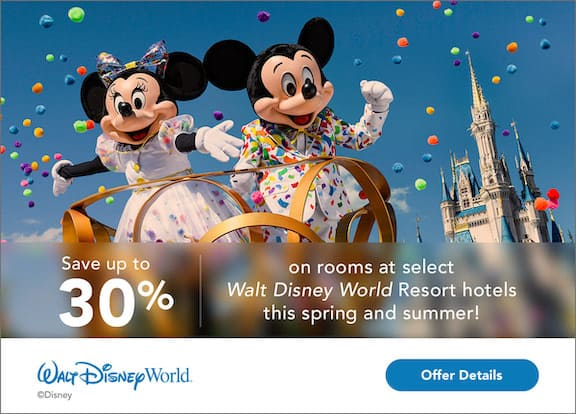 WDW Fun and Sun Offer
