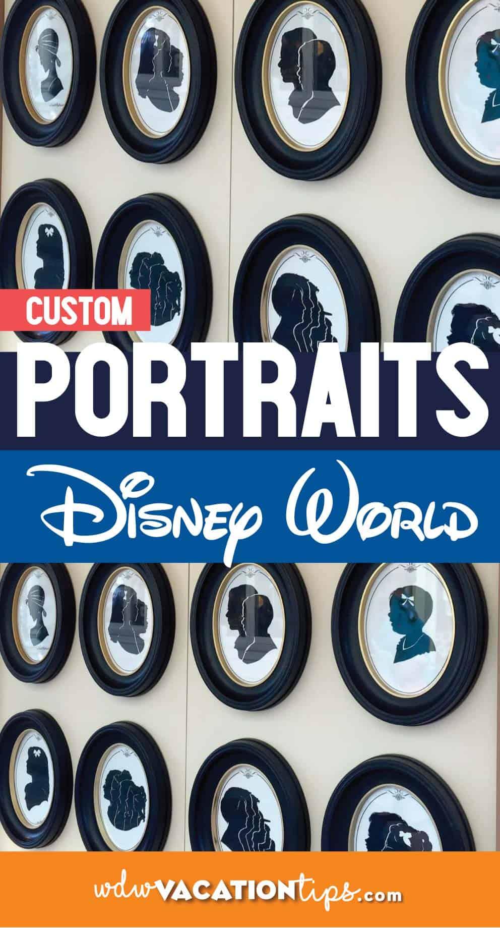 Disney World portraits