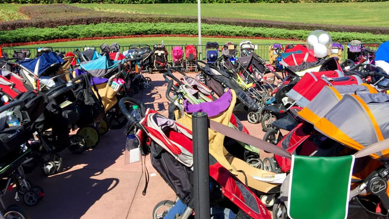 How to Find your Stroller at Disney World 5