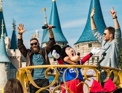 Disney World Superbowl Parade