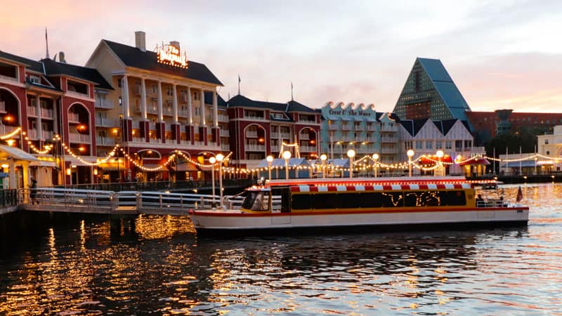 Disney Friendship Boats