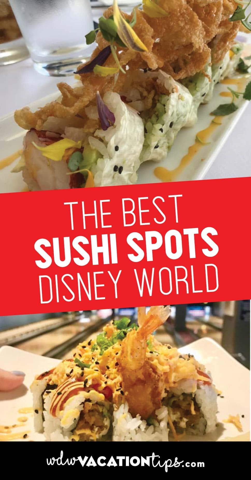 Disney World Sushi