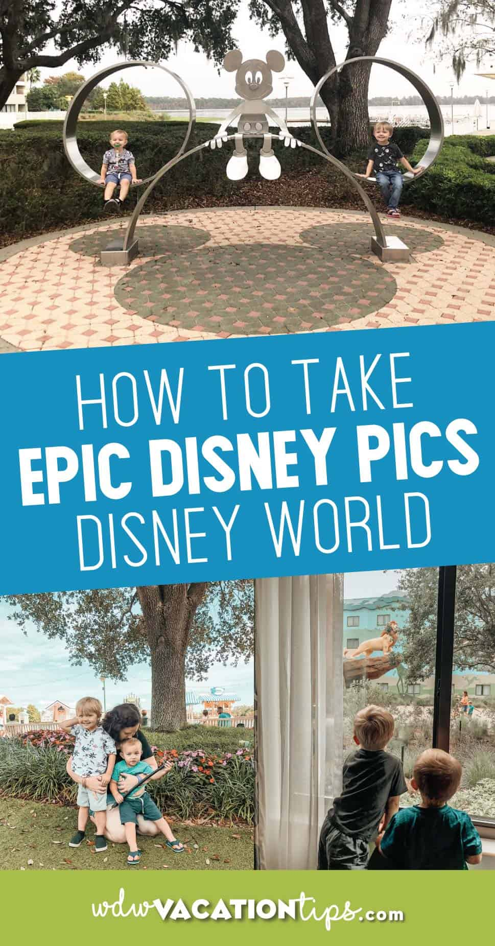 how to take disney pictures
