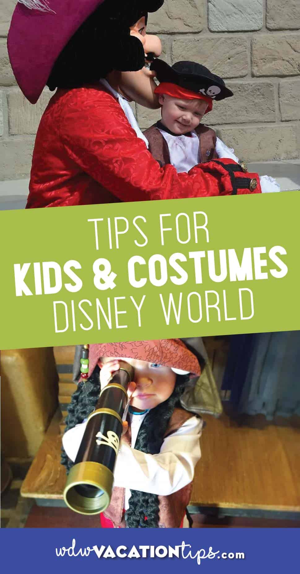 Tips for kids costumes at Disney World