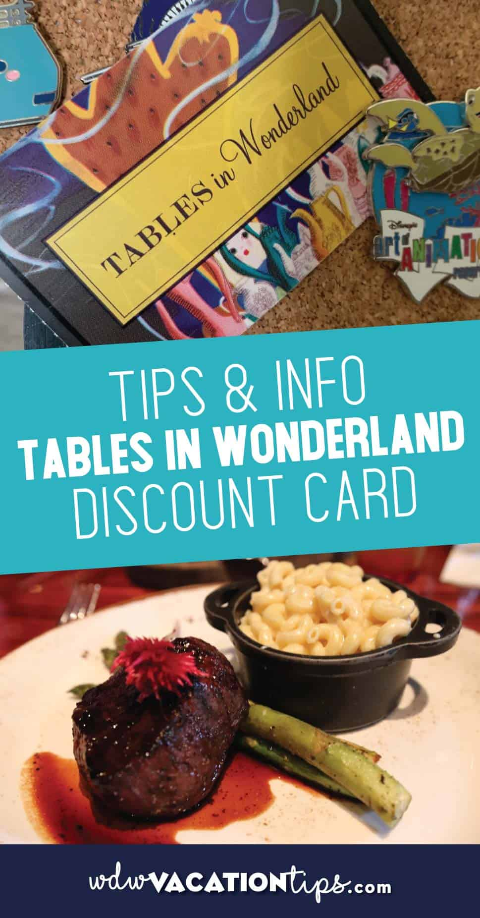 Tables in Wonderland Discount Card