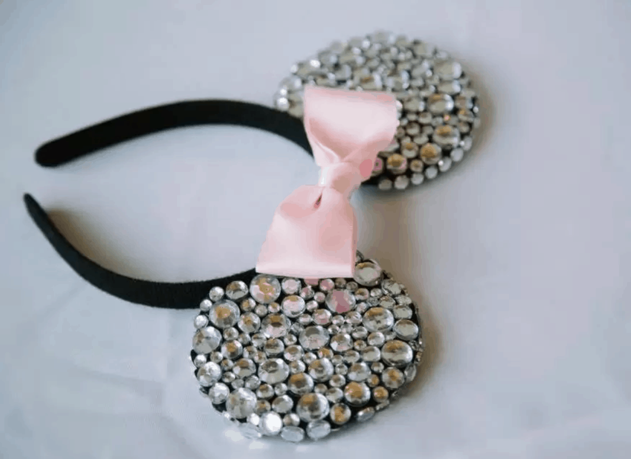 Bling Minnie Mouse Ears