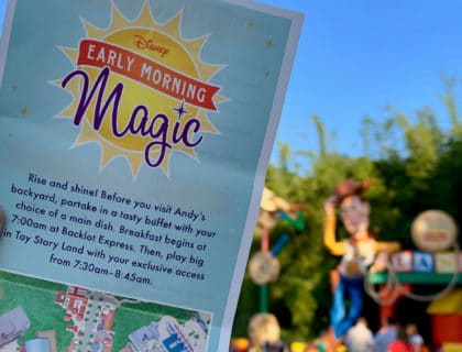 The Big Guide to Early Morning Magic at Toy Story Land 25