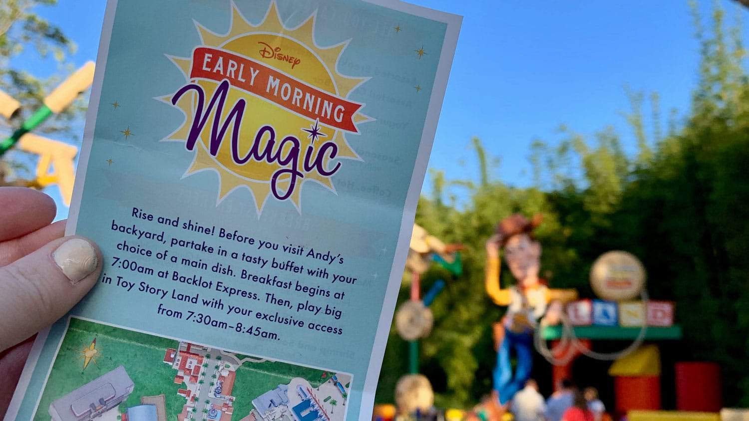 The Big Guide to Early Morning Magic at Toy Story Land 19