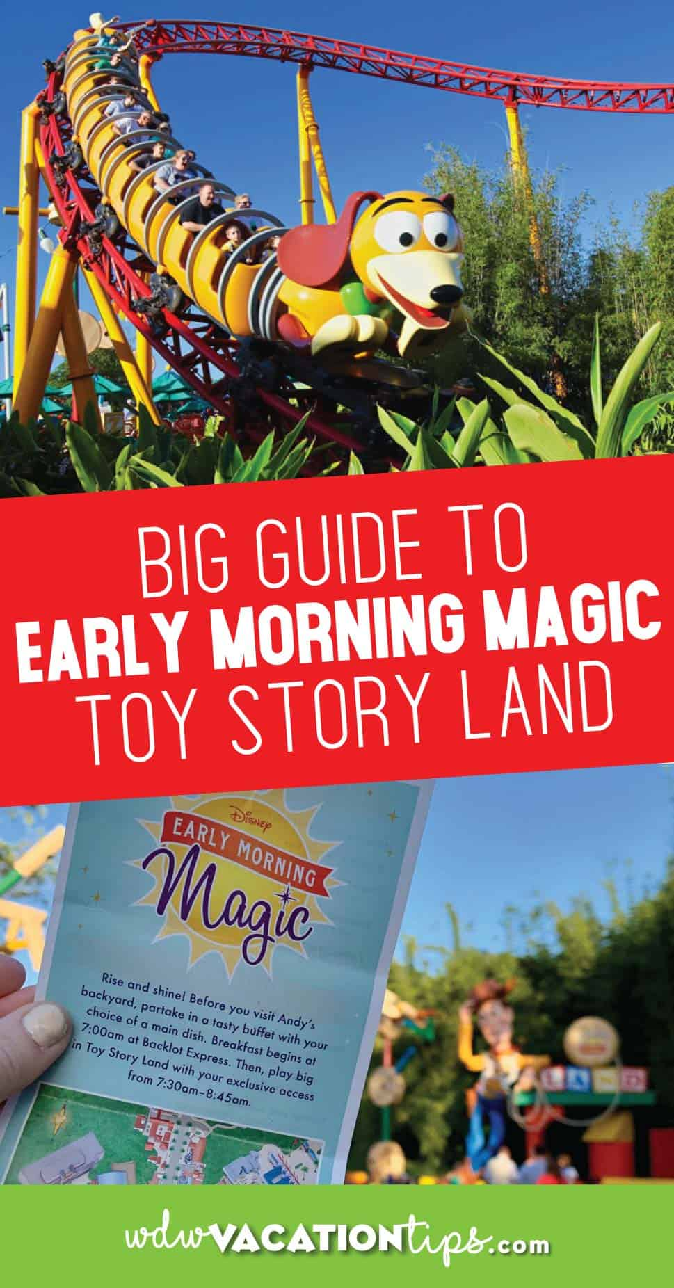 Toy Story Land Early Morning Magic