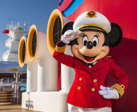 Minnie Mouse Takes Charge as Captain on the Disney Cruise Line