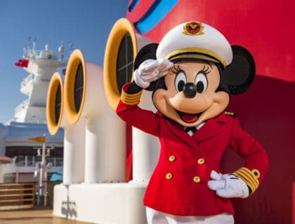 Minnie Mouse Takes Charge as Captain on the Disney Cruise Line 4