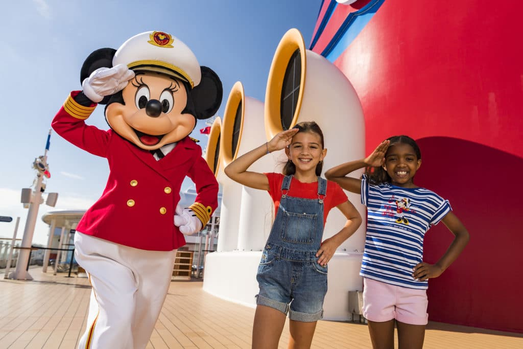 Minnie Mouse Takes Charge as Captain on the Disney Cruise Line 3