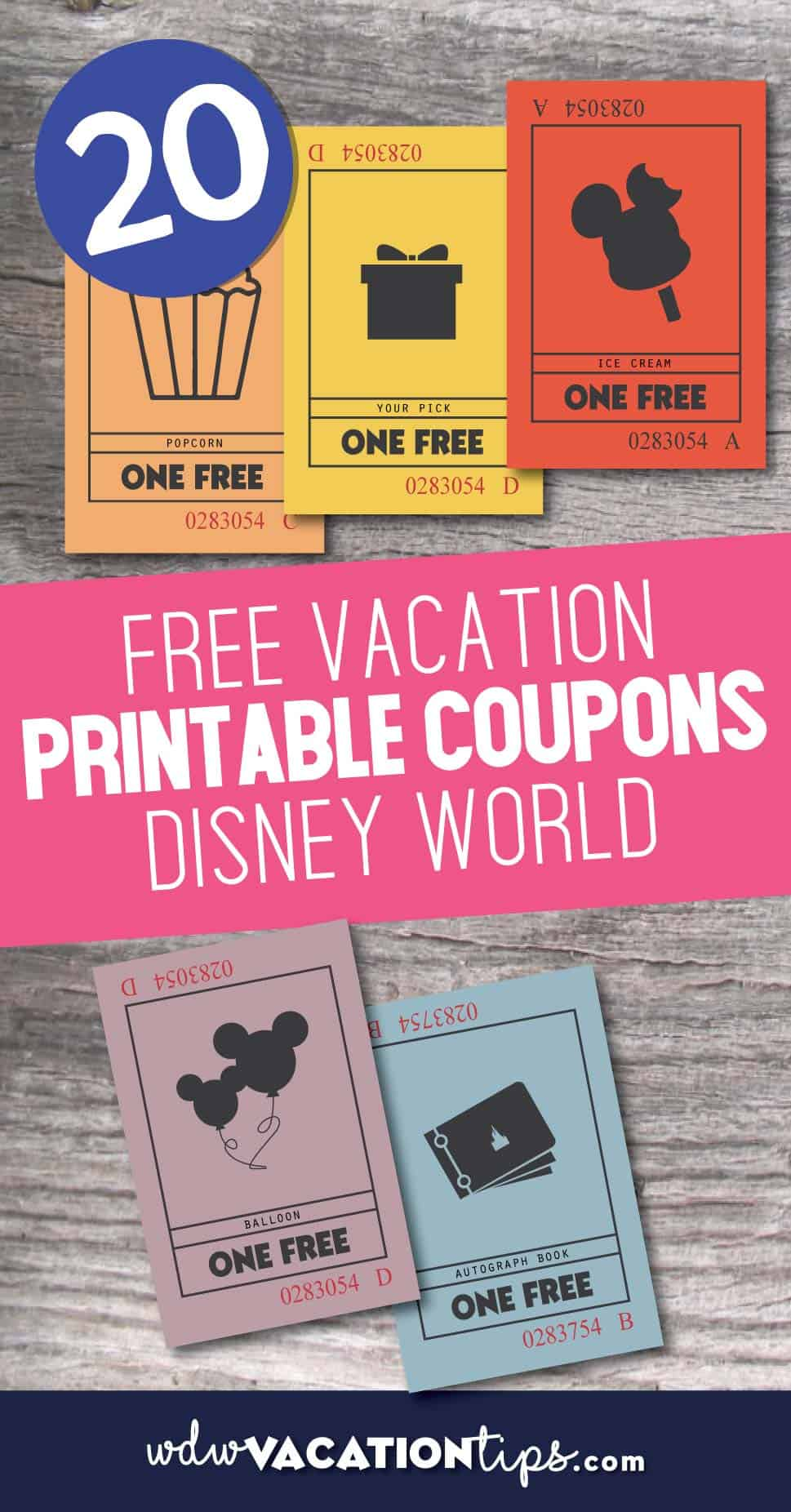 graphic about Disney World Printable Coupons known as No cost Disney Globe Printable Present Coupon codes WDW Holiday Pointers
